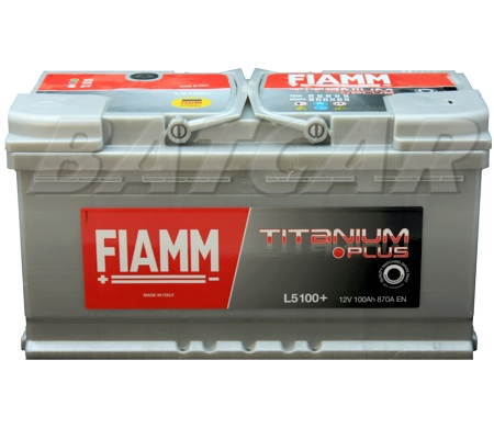 autobatterie fiamm titanium plus 12v 100ah 870a en premium. Black Bedroom Furniture Sets. Home Design Ideas