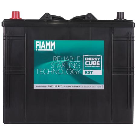Traktor Nutzfahrzeugbatterie FIAMM ENERGY CUBE CHX 125 RST LKW Batterie