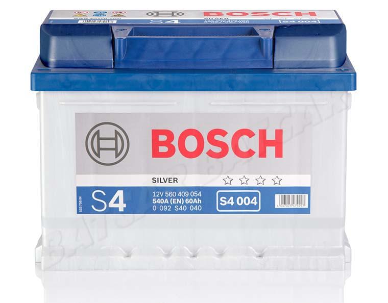 bosch 60 ah autobatterie s4 004 12v 60ah batterie etn. Black Bedroom Furniture Sets. Home Design Ideas