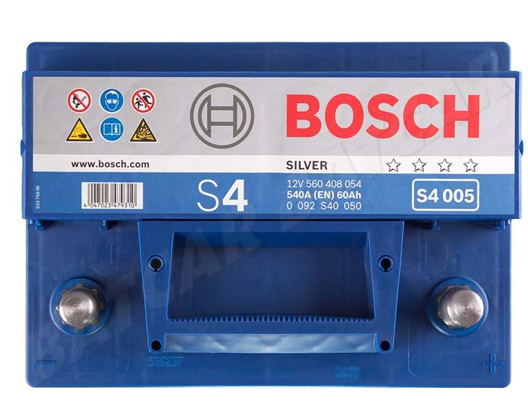 autobatterie bosch 12v 60ah 540 a en s4 005 60 ah top angebot sofort neu ebay. Black Bedroom Furniture Sets. Home Design Ideas