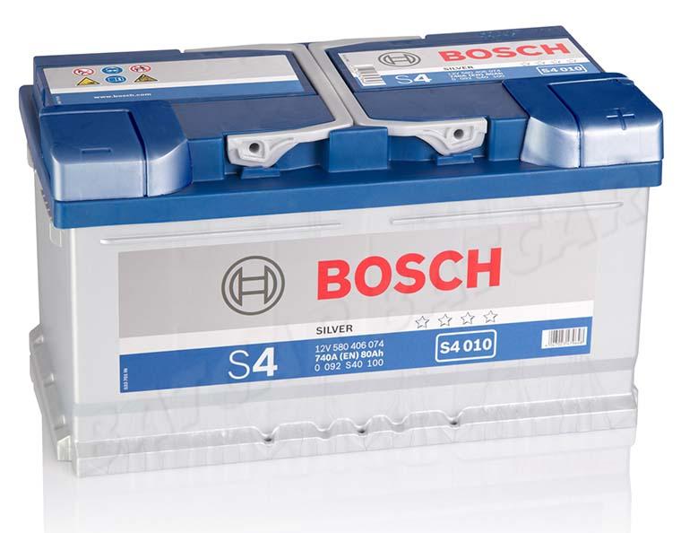 autobatterie bosch 12v 80ah 740 a en s4 010 80 ah top. Black Bedroom Furniture Sets. Home Design Ideas
