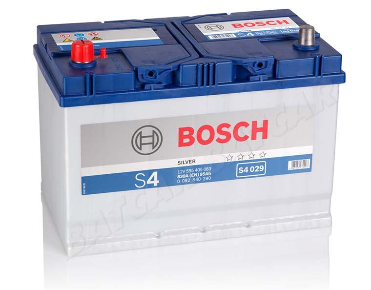 autobatterie bosch 12v 95ah 830 a en s4 029 95 ah top. Black Bedroom Furniture Sets. Home Design Ideas